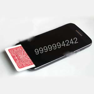 Black Plastic Samsung S5 Mobile Poker Cheat Device, Gambling Cheating Devices