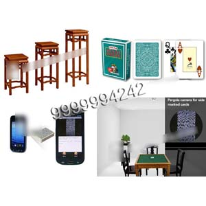 Black Pergola Camera Playing Card Scanner For Bar Codes Camera