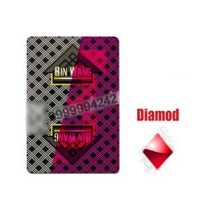 Paper Invisible Cheating Poker Cards Cheating Playing Cards 6.3cm * 8.8cm