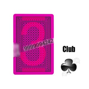 Gamble Cheat Lion Invisible Poker Plastic Marked Playing Cards For UV Contact Lenses