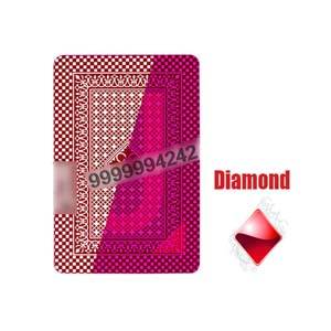 Royal Two Narrow Index Cheating Playing Cards Marked Cards Poker