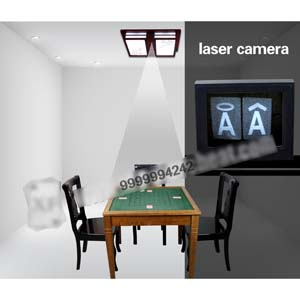 Brown Poker Cheat Card Invisible Playing Cards For Poker Analyzer And Camera