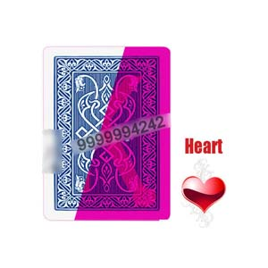 Popular Italy Elite Bridge Size Invisible Playing Cards Magic Show