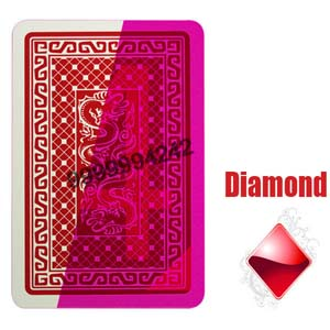 Gambling Italian DAL Negro Invisible Playing Cards Poker Games