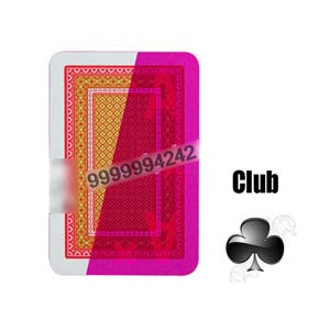 NTP Kizilay Standard Red Cheat Playing Cards Marked Cards