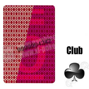 Magic Show Invisible Playing Cards, 3A Red Poker Cards for Gambling cheat