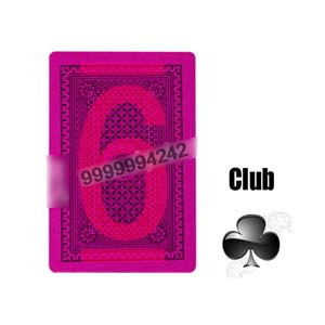 Magic Props Silver Paper Invisible Playing Cards, Gambling Cheat Marked Poker Cards