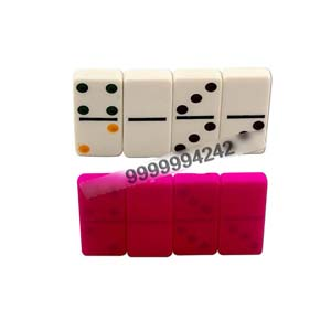 White Marked Dominoes For UV Contact Lenses, Dominoes Games, Gambling
