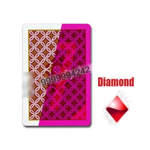 Aribic JDL Standard Size Plastic Invisible Marked Playing Cards For Contact Lens