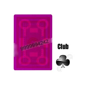 Reliance 555 Paper Cards Invisible Playing Marked Cards Contact Lenses Poker Cheat